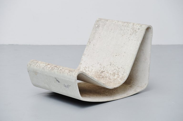 Willy Guhl loop chair Eternit AG Switzerland 1954