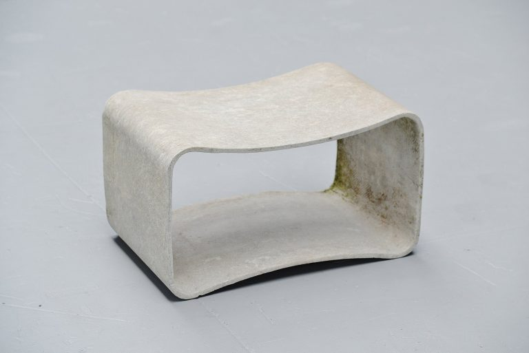 Willy Guhl loop stool Eternit AG Switzerland 1954