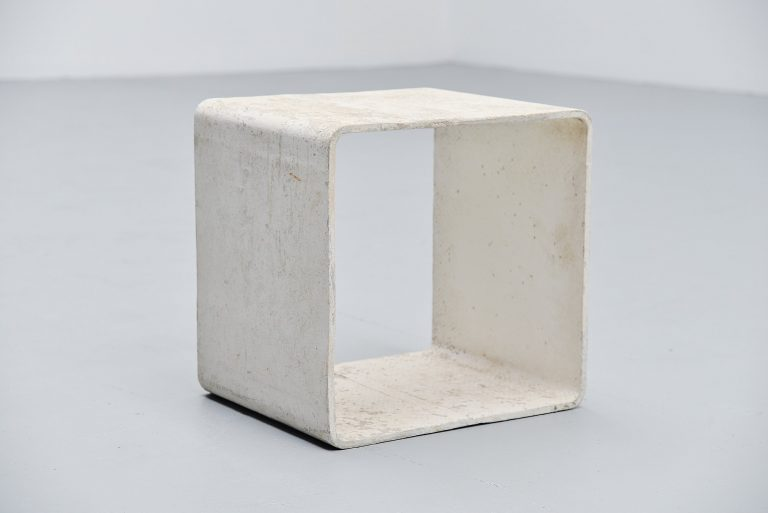 Willy Guhl side table Eternit AG Switzerland 1954