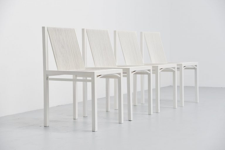 Ruud Jan Kokke dining chairs Metaform 1984