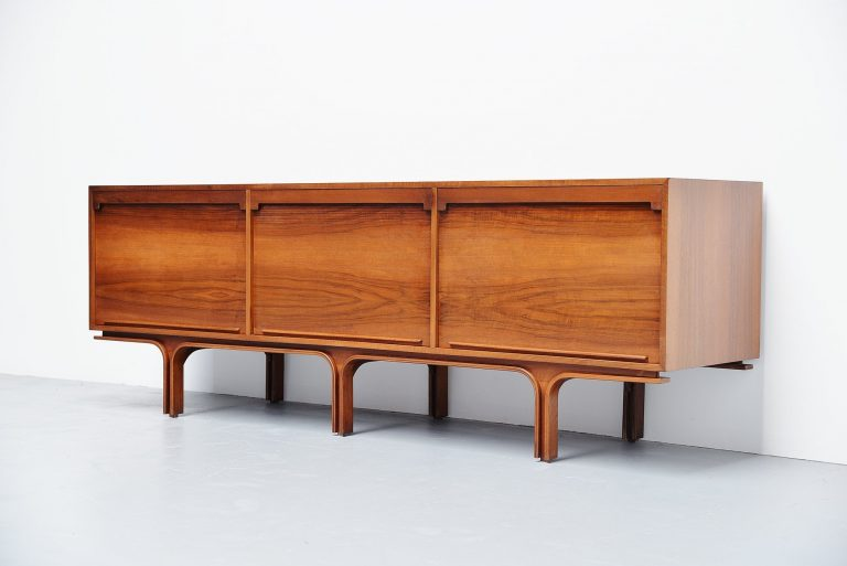 Gianfranco Frattini walnut sideboard Bernini Italy 1957