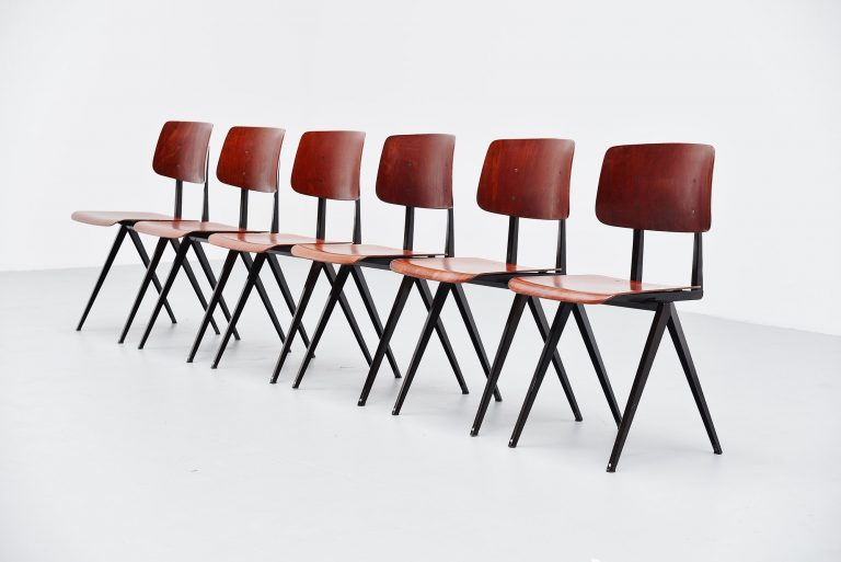 Galvanitas industrial chairs Holland 1970