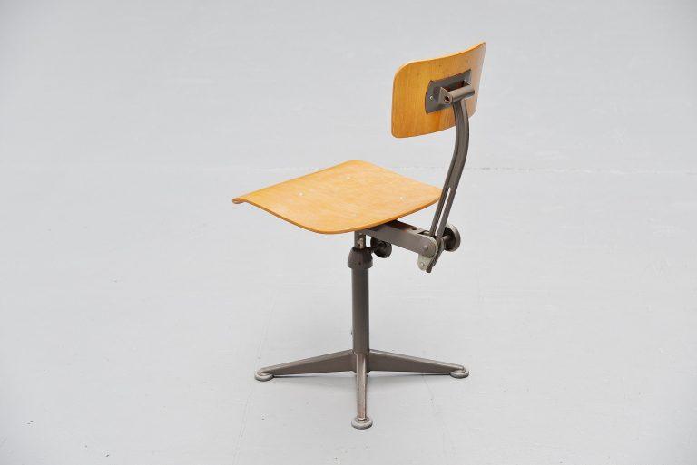 Friso Kramer architectural chair Ahrend de Cirkel 1963