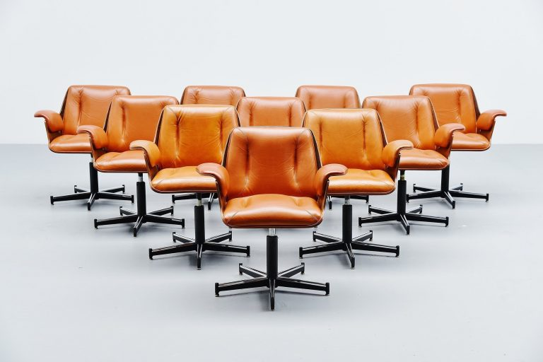 Carlo Fongaro Probjeto office chairs Brazil 1975