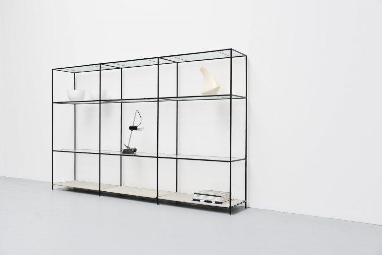 Abstracta shelving unit Poul Cadovius Denmark 1960
