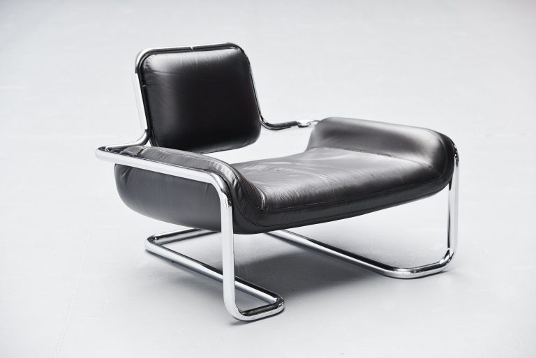 Kwok Hoi Chan Limande chair Steiner France 1971