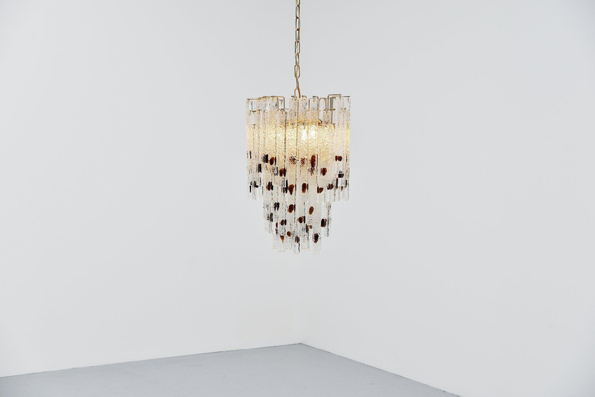 Venini chandelier murano italy 1960 massmoderndesign venini chandelier murano italy 1960 up down arubaitofo Gallery