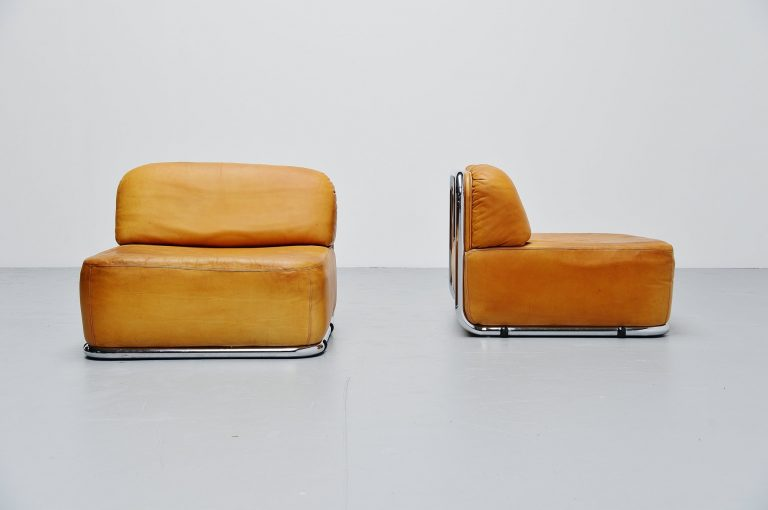 Geoffrey Harcourt Artifort lounge chairs Holland 1973