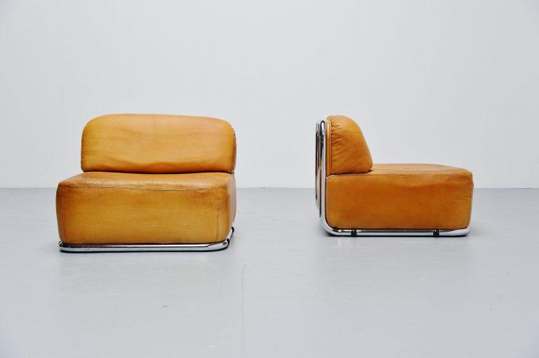 Geoffrey Harcourt Artifort lounge chairs Holland 1973