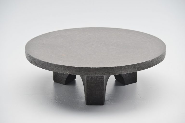 Brutalist coffee table Ado Chale style Holland 1960