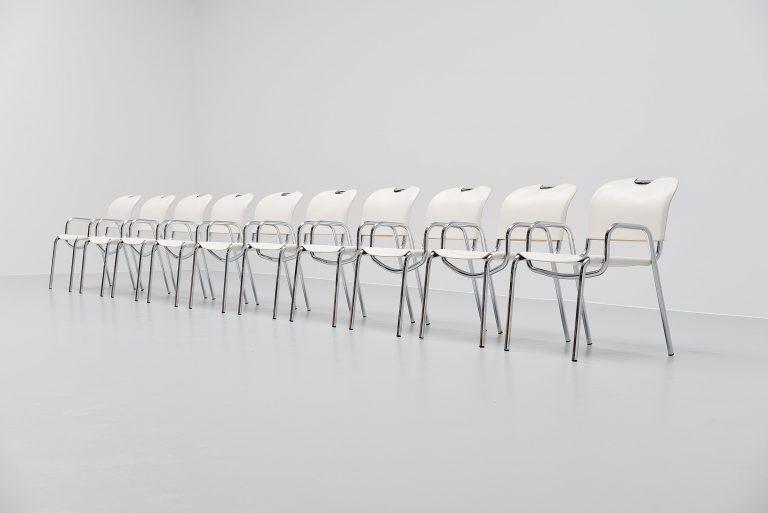 Achille Castiglioni Castiglia chairs Zanotta Italy 1968