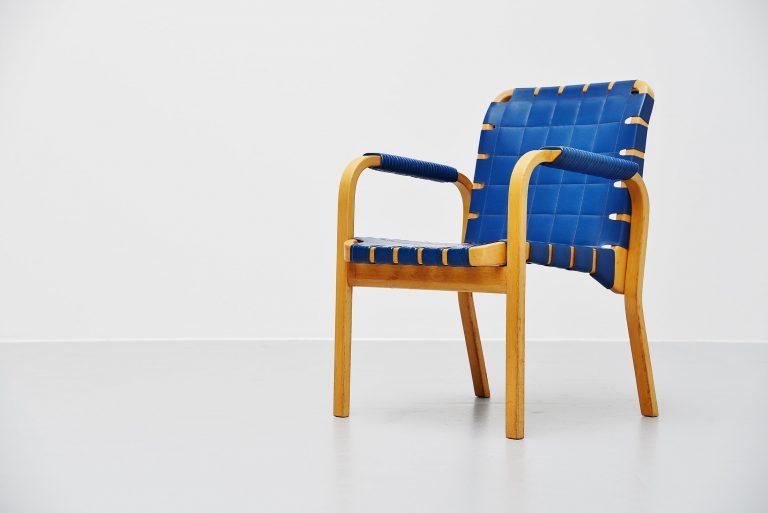 Alvar Aalto model 45 armchair Artek Finland 1947