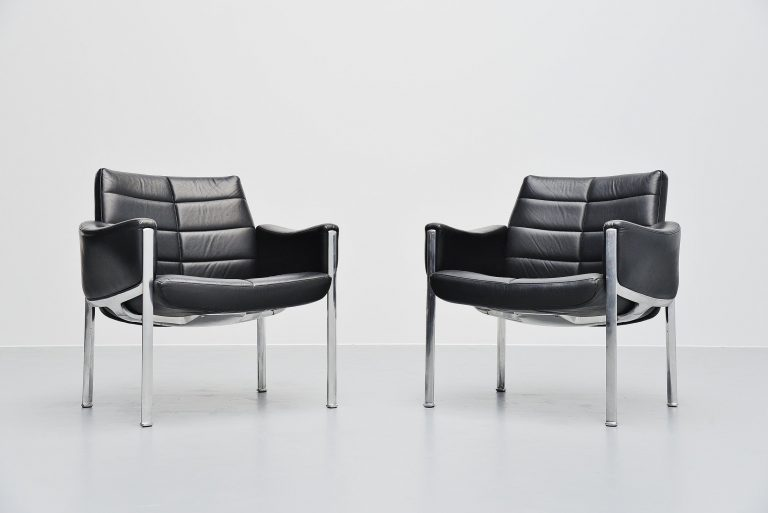 Miller Borgsen armchairs Röder Söhne Germany 1966