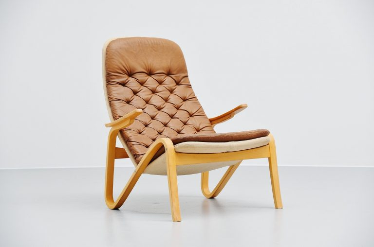 Sam Larsson Metro lounge chair Dux Sweden 1970