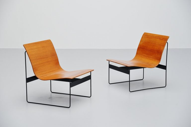 Günter Renkel Rego lounge chairs Germany 1959