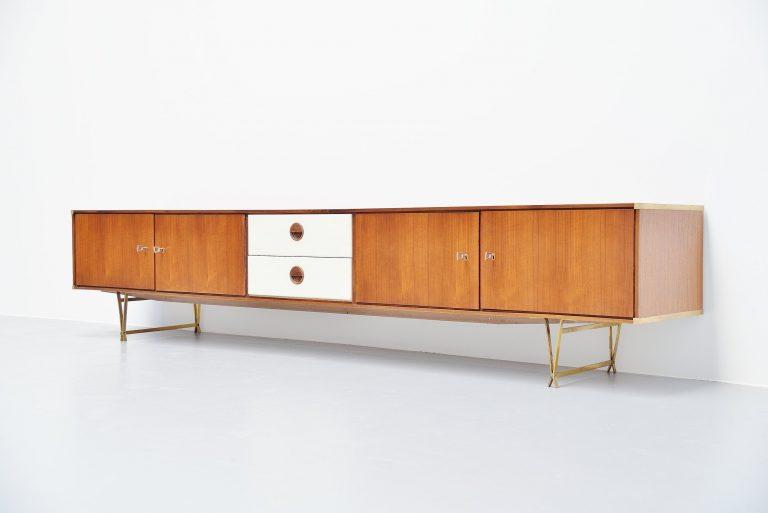 Wim Crouwel low sideboard Fristho Franeker 1954