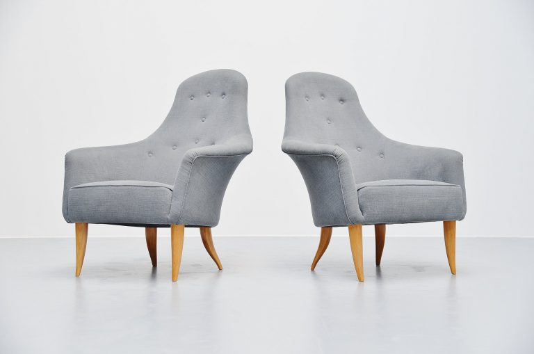 Kerstin Hörlin-Holmquist Adam lounge chairs Nordiska 1958