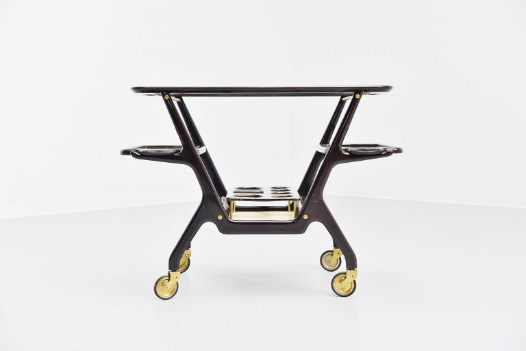Cesare Lacca serving cart Italy 1950