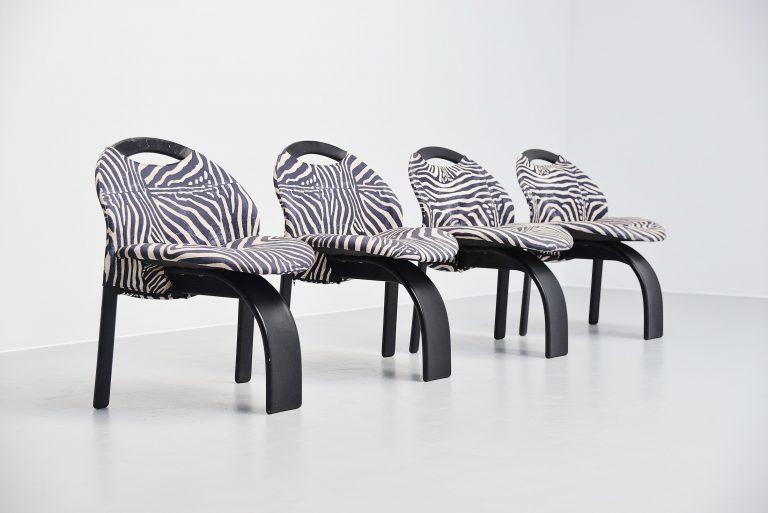 Giovanni Offredi Sail chairs Saporiti Italy 1973