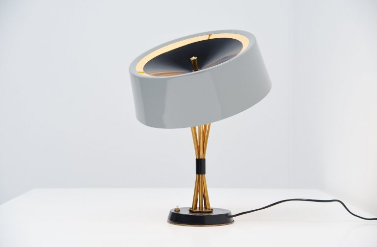 Oscar Torlasco adjustable table lamp Lumi Italy 1960