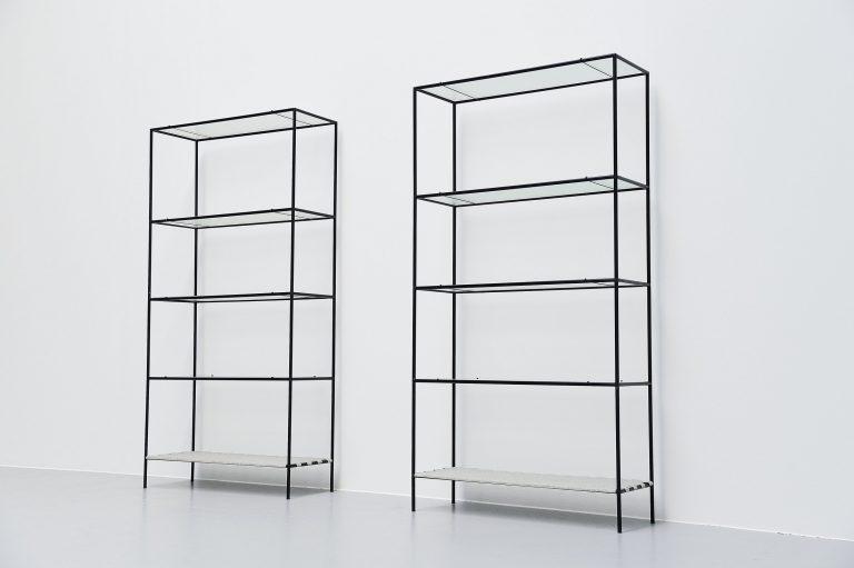 Poul Cadovius Abstracta bookcases Denmark 1960