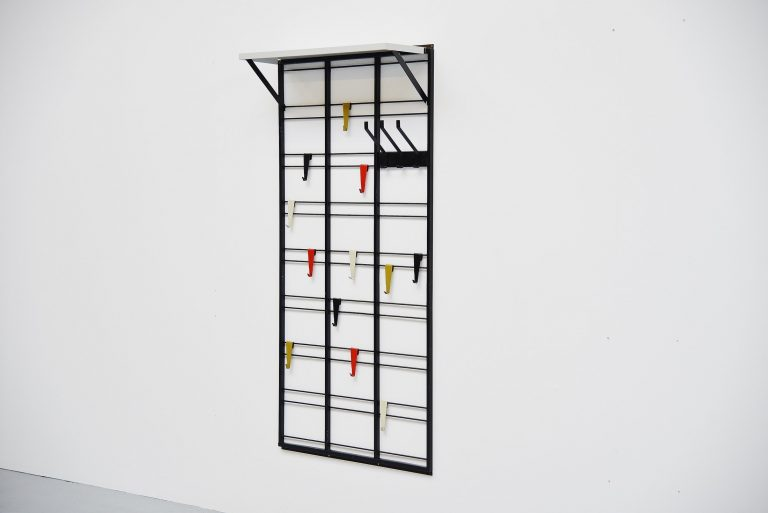 Pilastro Tjerk Reijenga coat rack Holland 1960