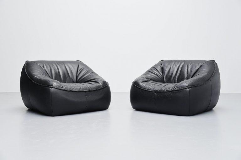 Gerard van den Berg Ringo lounge chairs Montis 1970