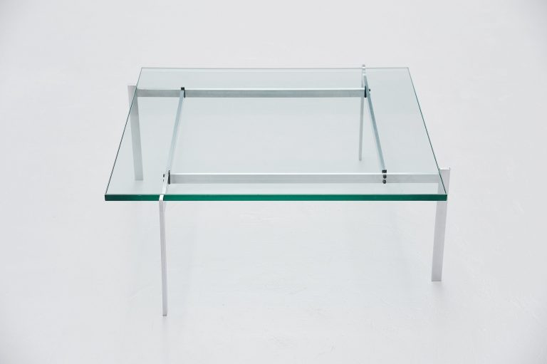 Poul Kjaerholm PK61 coffee table Fritz Hansen 1985