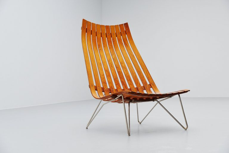 Hans Brattrud Scandia lounge chair Hove Mobler Norway 1957