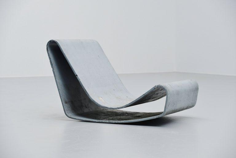 Willy Guhl loop lounge chair Eternit Switzerland 1954