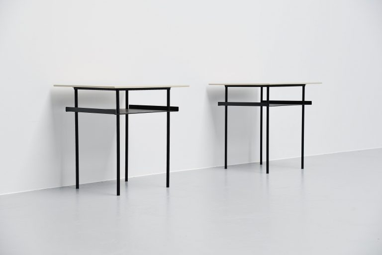 Wim Rietveld side tables for Auping Holland 1950