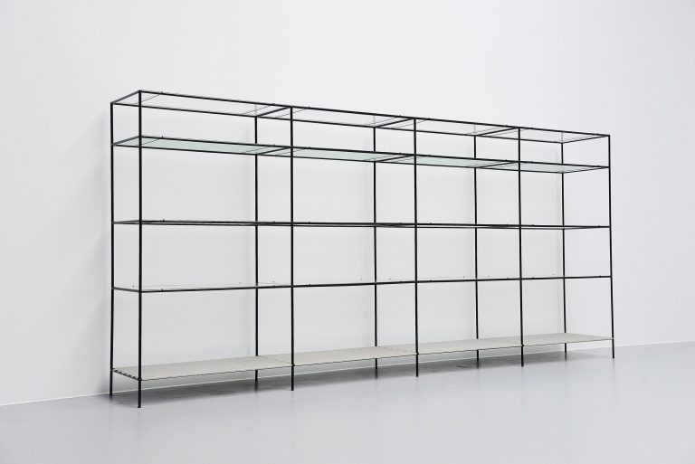 Abstracta shelving system Poul Cadovius Denmark 1960