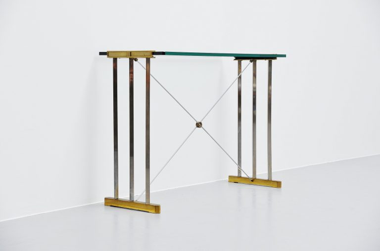 Peter Ghyczy console table Holland 1980