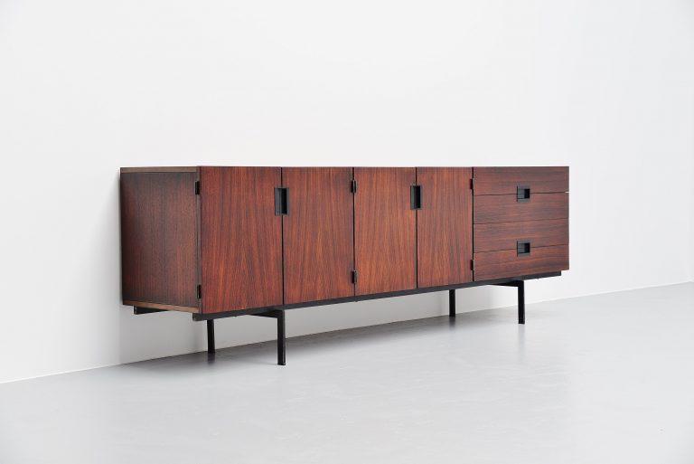 Rosewood Pastoe DU03 sideboard Cees Braakman Holland 1958