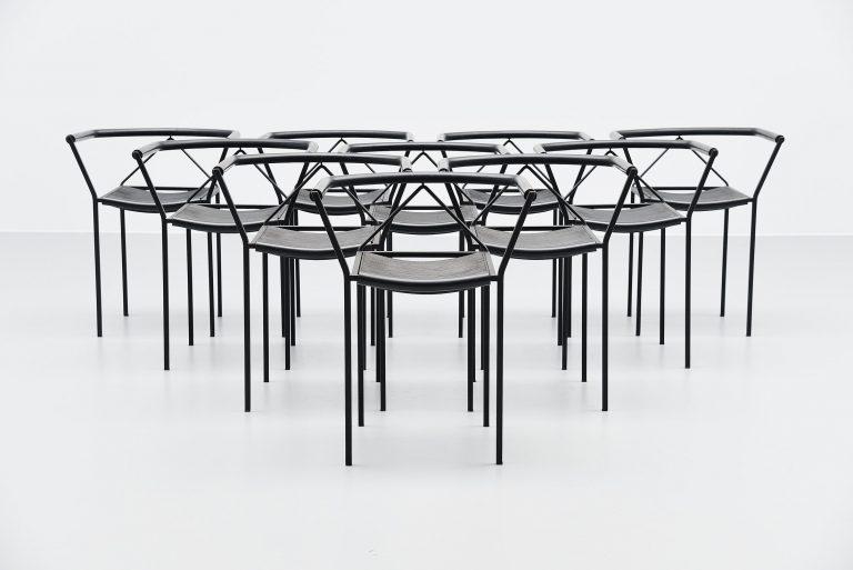 Maurizio Peregalli Poltroncina armchairs for Zeus Italy 1984