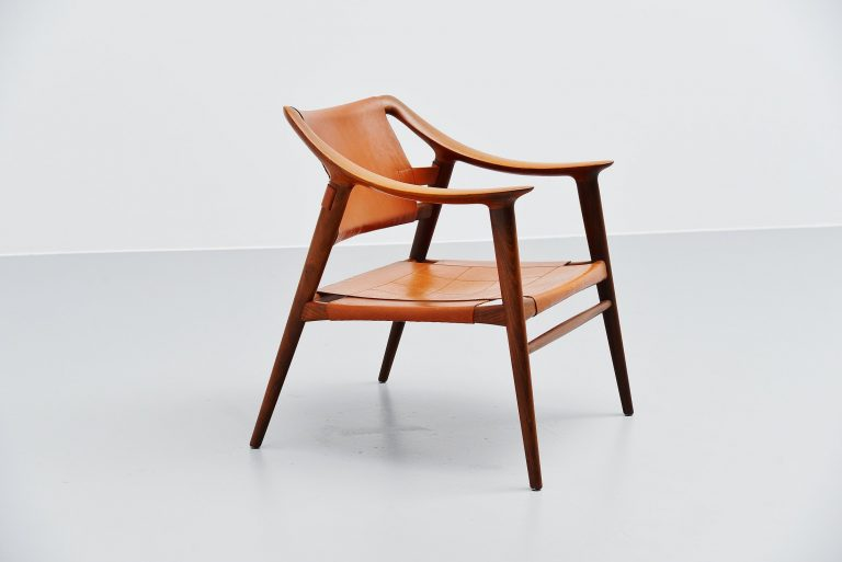 Rastad and Relling Bambi lounge chair Gustav Bahus Norway 1950