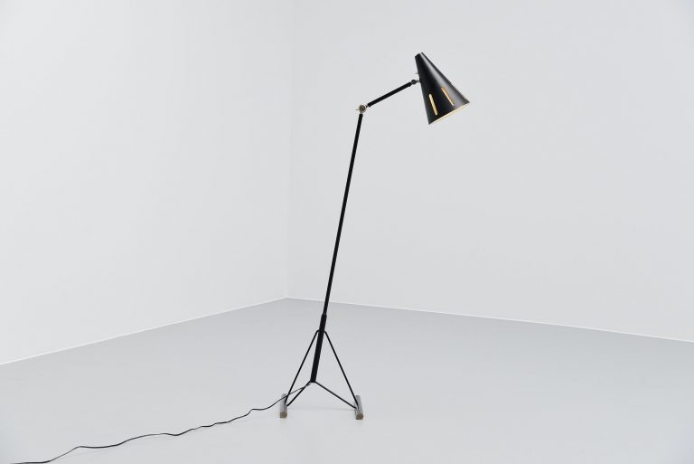Hala HThA Busquet floor lamp from the Sun Series Holland 1955