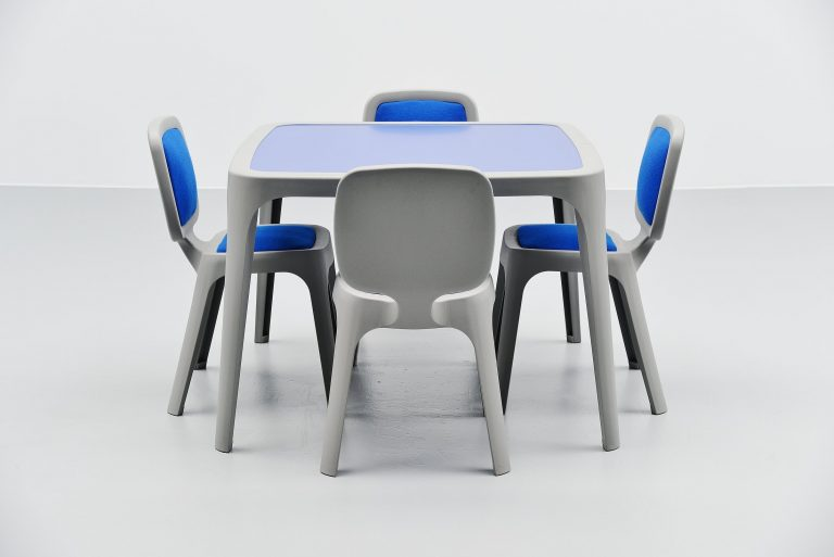Marc Newson Coast dining set Magis Italy 1995