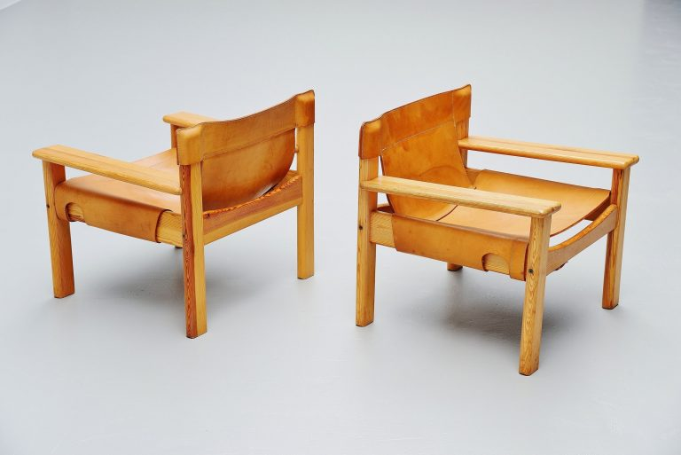 Karin Mobring Natura lounge chairs Sweden 1977