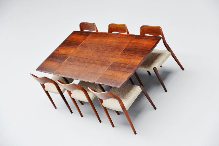Arne Vodder table in rosewood for Sibast mobler 1960