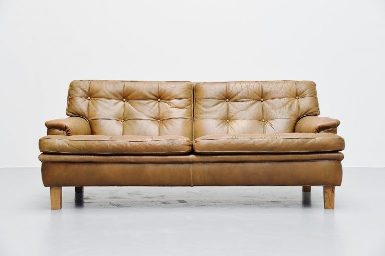 Arne Norell Merkur two-seat sofa AB Sweden 1960