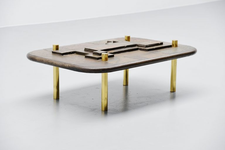 Marcus Kingma artwork coffee table Holland 1993
