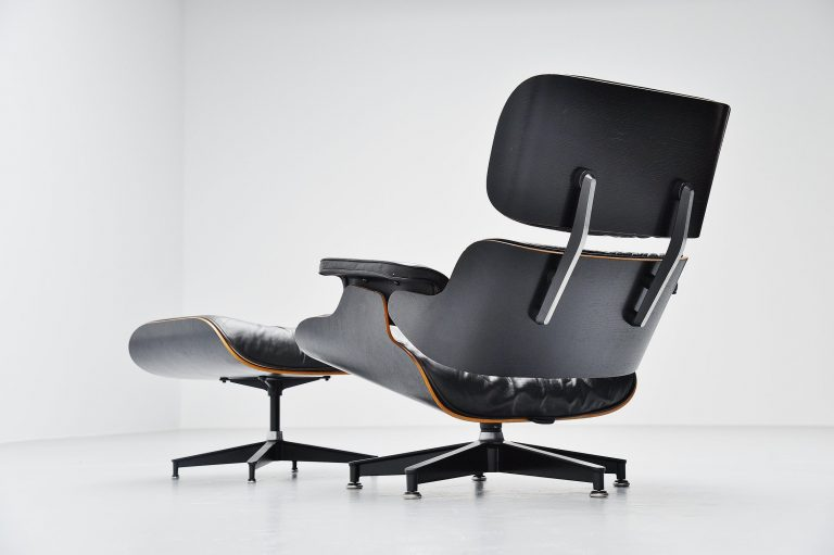 Charles and Ray Eames lounge chair Herman Miller USA 1956