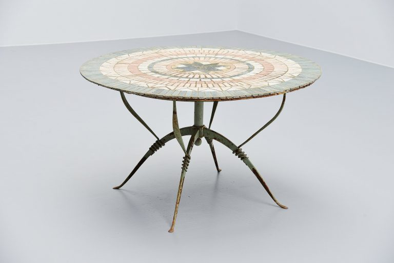 Raymond Subes Maison Dominique Art deco dining table France