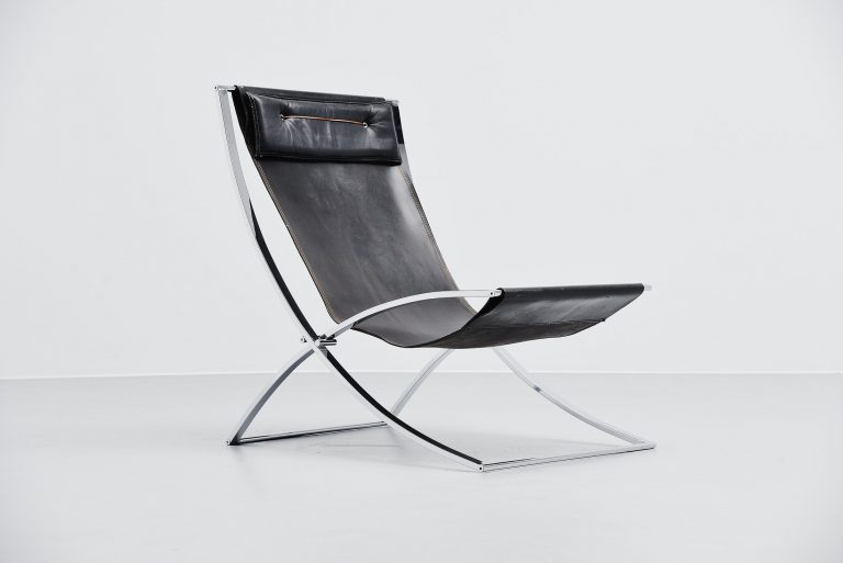 Marcello Cuneo Luisa lounge chair Mobilia 1972