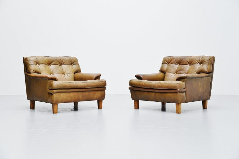 Arne Norell Merkur lounge chairs AB Sweden 1960