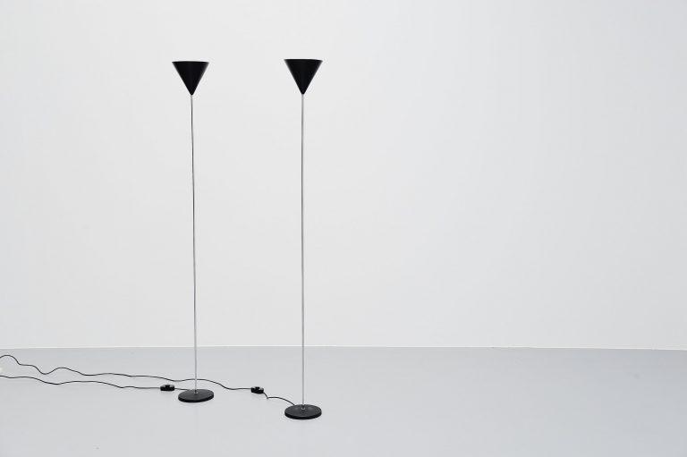 Luigi Caccia Dominioni LTE5 Imbuto floor lamps Azucena 1954