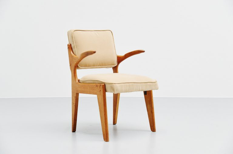 Guillerme et Chambron armchair France 1960