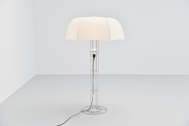 Gijs Bakker Umbrella floor lamp Artimeta Holland 1973