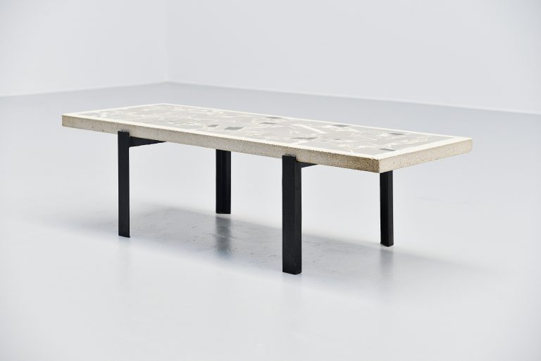 Paul Kingma mosaic coffee table Holland 1959